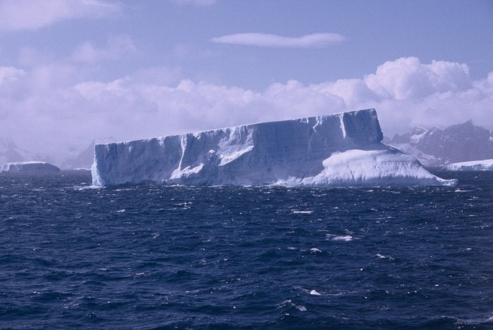The first ice berg we saw - off Signy Island in the South Orkney Islands.