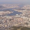 Kitakyushu from the top of Mount Sarakura on a nice sunny Christmas Eve.